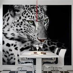 Déco murale léopard des neiges
