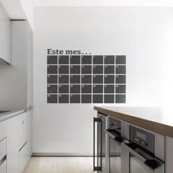 Sticker ardoise calendrier...