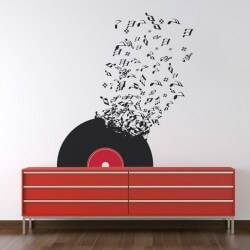 Sticker de notes de musique