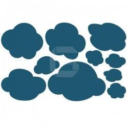 Sticker bébé nuages
