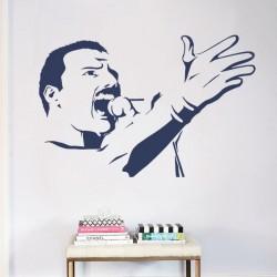 Sticker mural Freddie Mercury