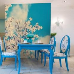 Déco murale arbre en fleur 1