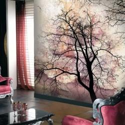 Revêtement mural arbre 8