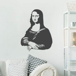 Sticker mural Mona Lisa