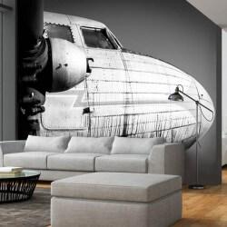 Papier peint avion vintage
