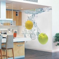 Adhésif l'eau avec des fruits