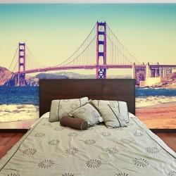 Déco murale pont Golden Gate