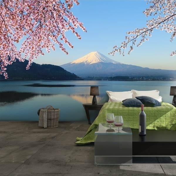 Papier peint lac Ashinoko