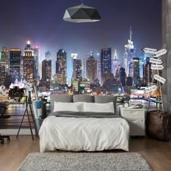 Adhésif soirée à New York