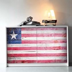 Adhésif meubles drapeau du...