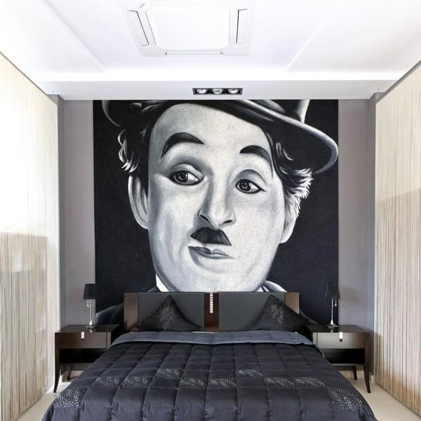 Sticker Charlie Chaplin 2