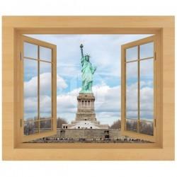 Adhésif fenêtre Statue de la Liberté