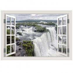 Sticker fenêtre chutes du Niagara