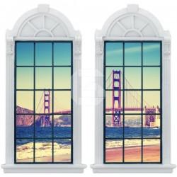 Sticker fenêtre Pont Golden Gate