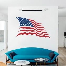 Sticker drapeau États-Unis