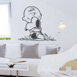 Sticker Snoopy et Charlie