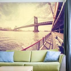 Déco murale pont de Manhattan