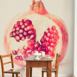 Papier peint fruit grenade