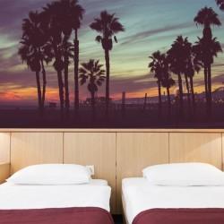 Papier peint soirée à Ibiza