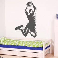 Sticker mural basquetball 2