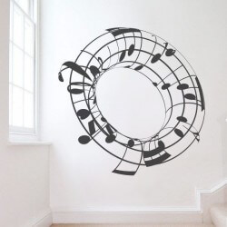 Cylindre notes de musique