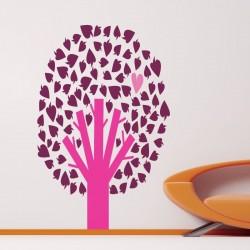 Sticker enfant arbre avec...