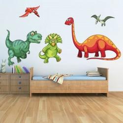 Sticker enfant dinosaures