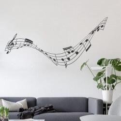 Adhésif notes de musique 1