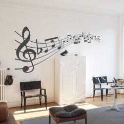 Adhésif notes de musique 3