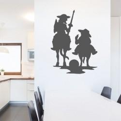 Sticker mural Don Quichotte