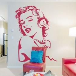 Adhésif mural Marilyn Monroe 1