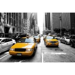 Déco murale taxi à New York 1