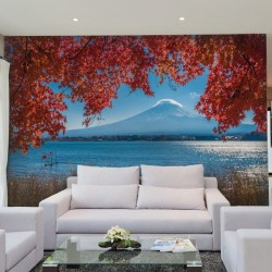 Papier peint Mont Fuji