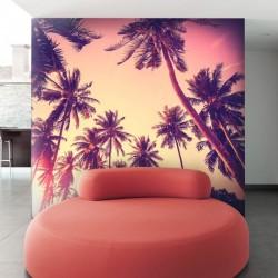 Papier peint palmiers 1