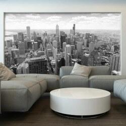 Papier peint ville Chicago