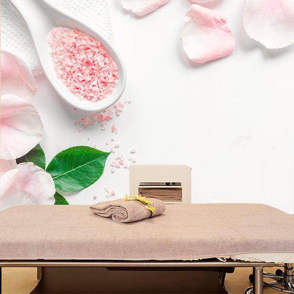 Photo Murale Sels de Bain à la Rose