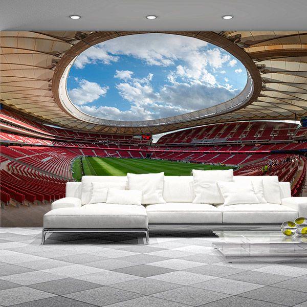 Photo murale stade de football