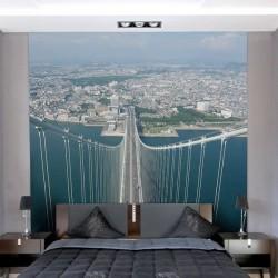 Déco murale pont d'Akashi 1