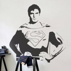 Sticker mural Superman 1