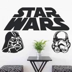 Sticker mural Star Wars