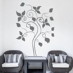 Sticker mural arbre 16
