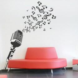Sticker mural microphone 1