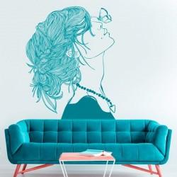 Vinil ilustração mulher 1