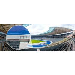 Photo murale du stade olympique
