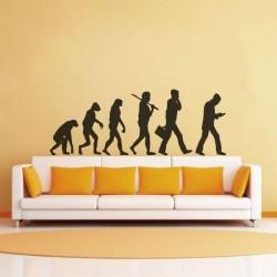 Sticker évolution homme