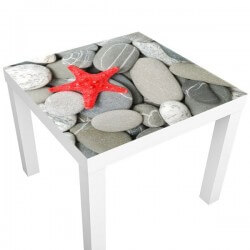 Sticker table étoile de mer
