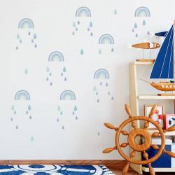 Stickers arc-en-ciel pour enfants