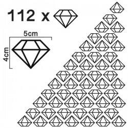 Stickers diamants