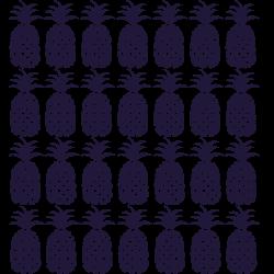 Mini sticker ananas