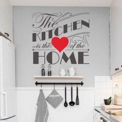 Sticker de phrases the kitchen